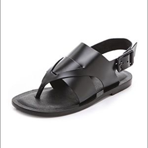 Shoes - Tibi leather sandals